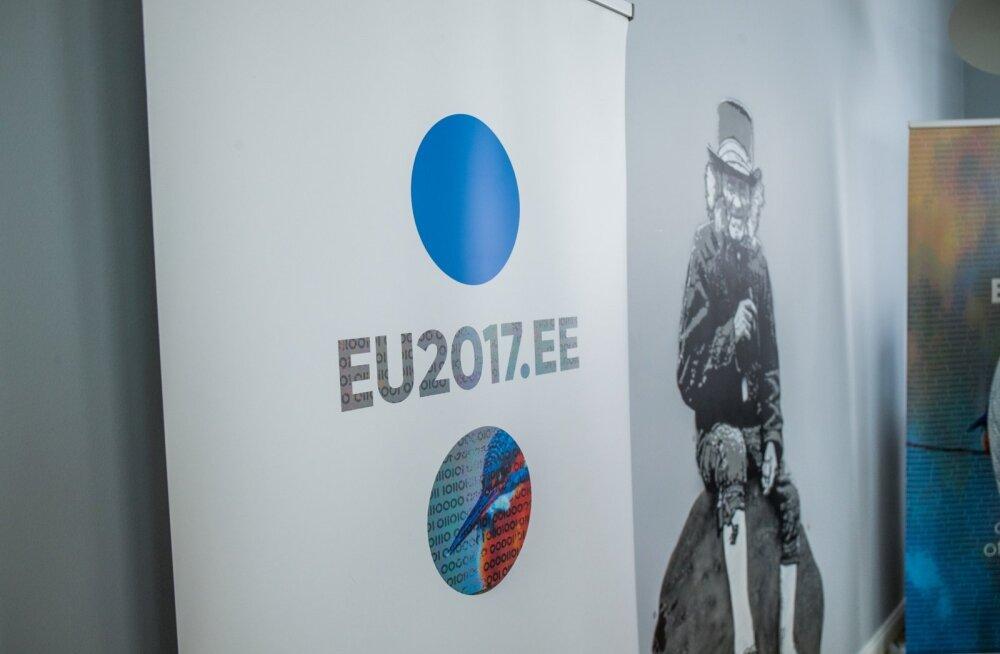 Eesti Euroopa Liidu Nõukogu eesistumise visuaalset identiteeti ja põhisõnumeid