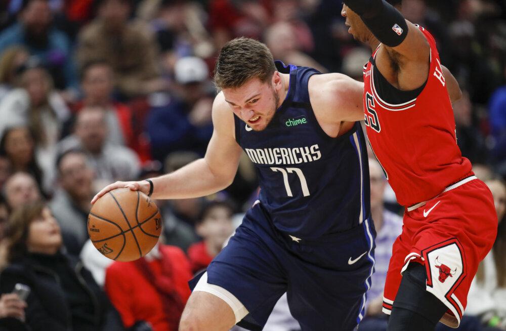 VIDEO | Porzingiseta mänginud Mavericks sai ootamatu kaotuse, NBA-s sündis veel mitu üllatustulemust