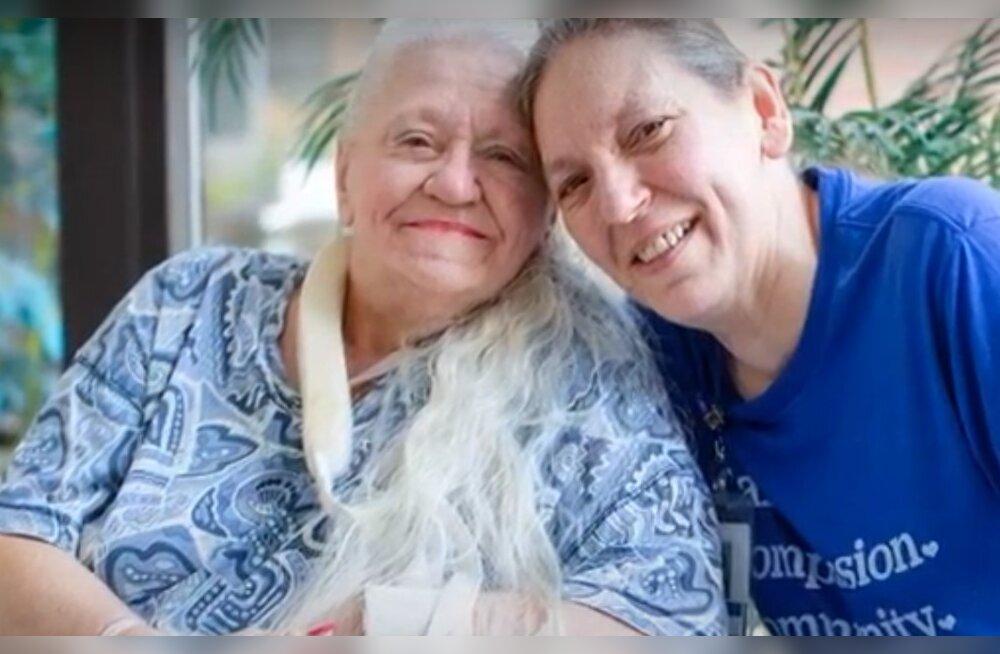 Разлученные на 53 года сестры воссоединились благодаря коронавирусу