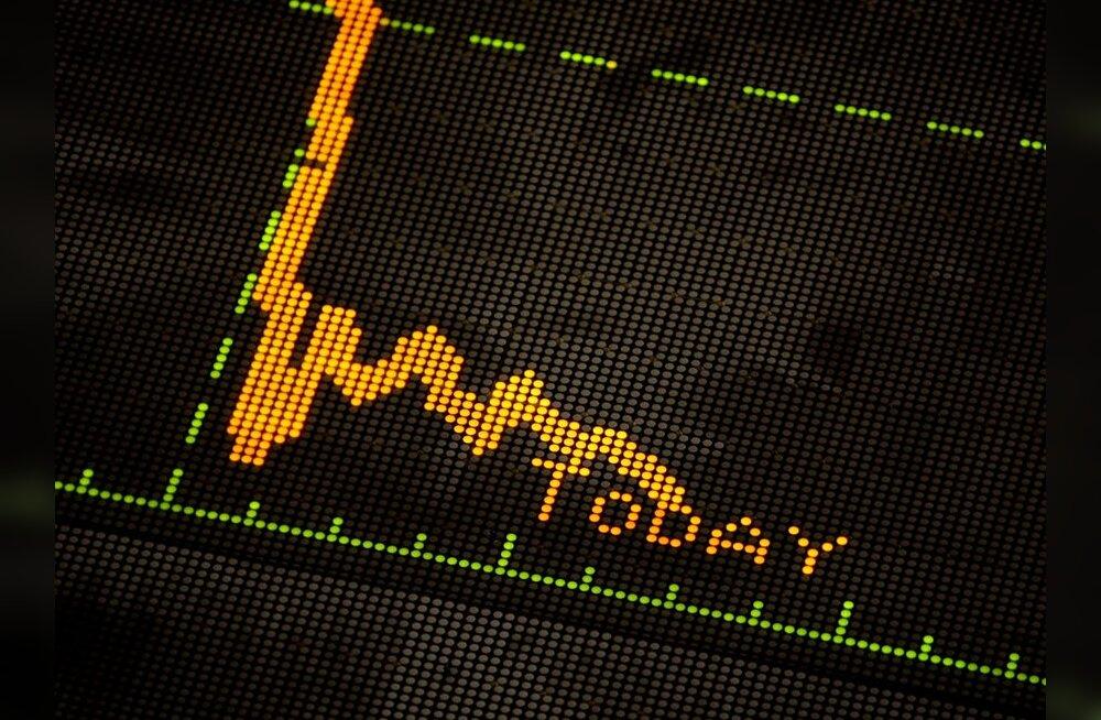 Tallinna börsil jätkub tõsine langus