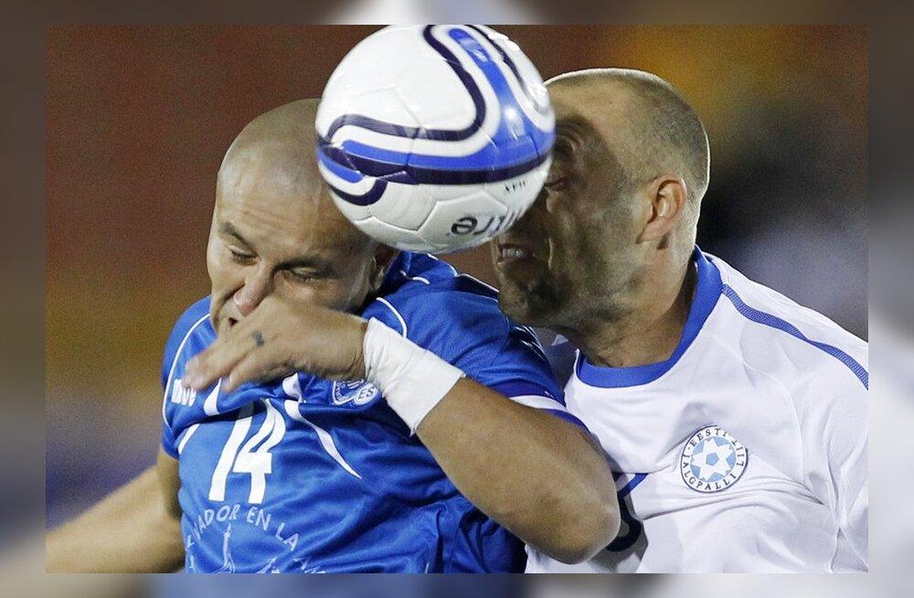 FOTOD/VIDEO: Suurepärane! Eesti alistas sõprusmängus El Salvadori 2:0!