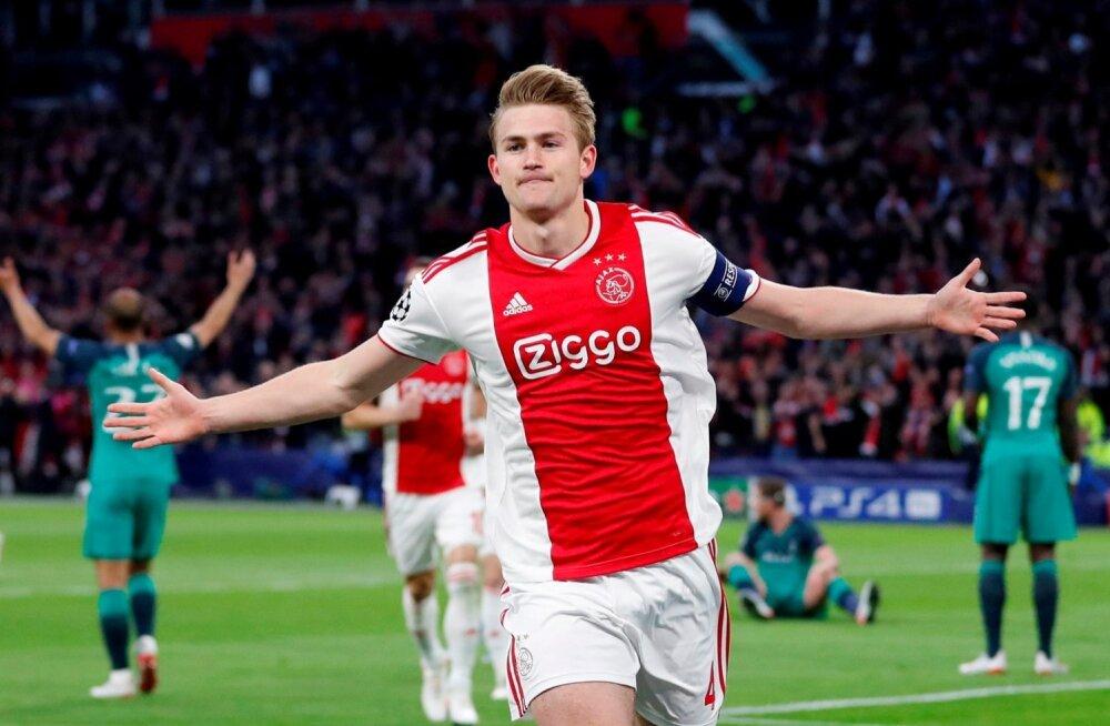 Matthijs de Ligt on seni kuulunud Amsterdami Ajaxi ridadesse.