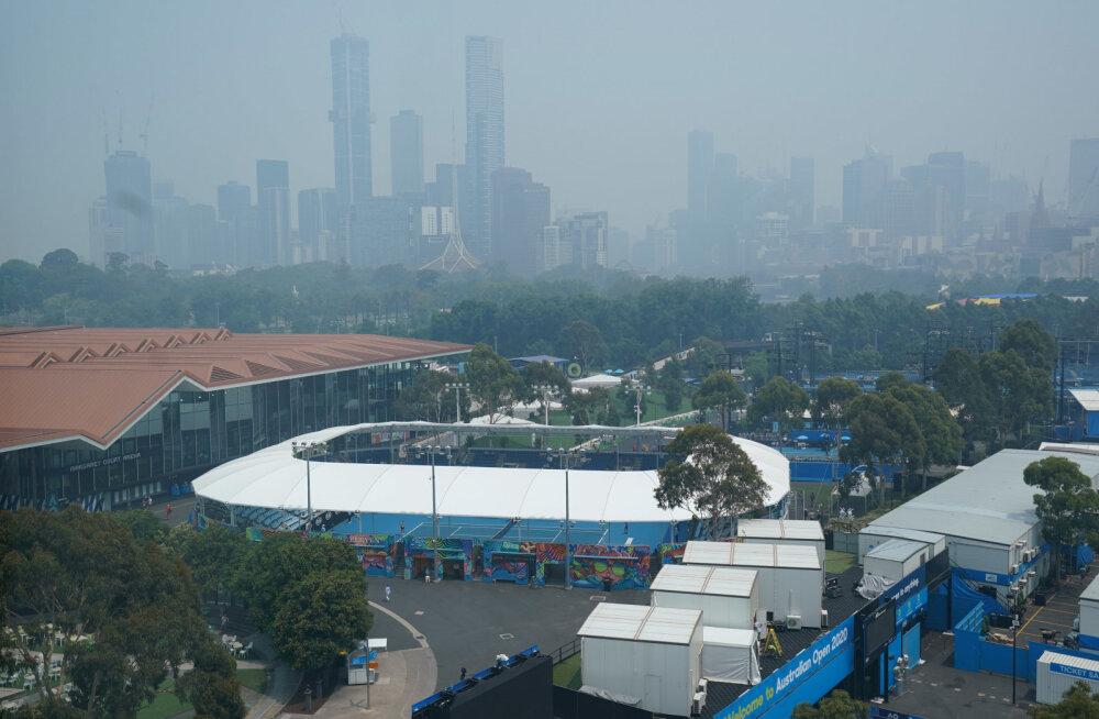 Austraalia lahtiste mängijad peavad kannatama maailma halvimat õhukvaliteeti, ühe sportlase tervis ütles üles
