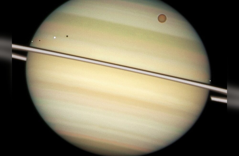 Saturni rõngad: riismed kosmilisest mõrvast?