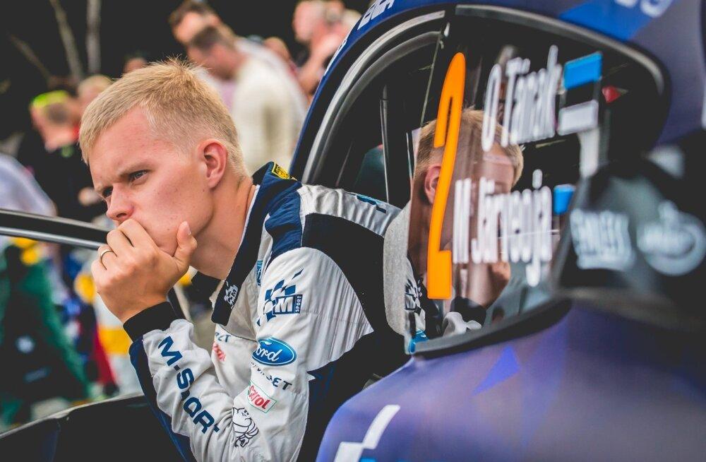Ott Tänak vahetab uuel hooajal Fordi auto ja M-Spordi riided Toyota vastu.