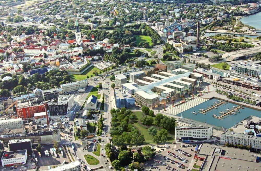 Tallinn muutub: äripiirkond nihkub sadamasse