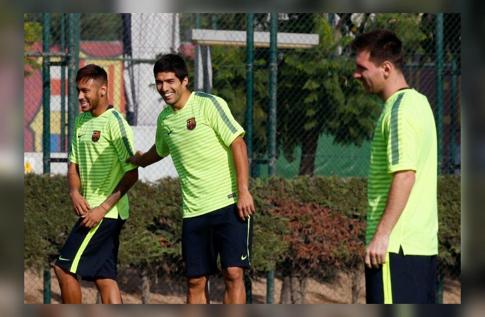 Neymar, Luis Suarez, Lionel Messi, FC Barcelona