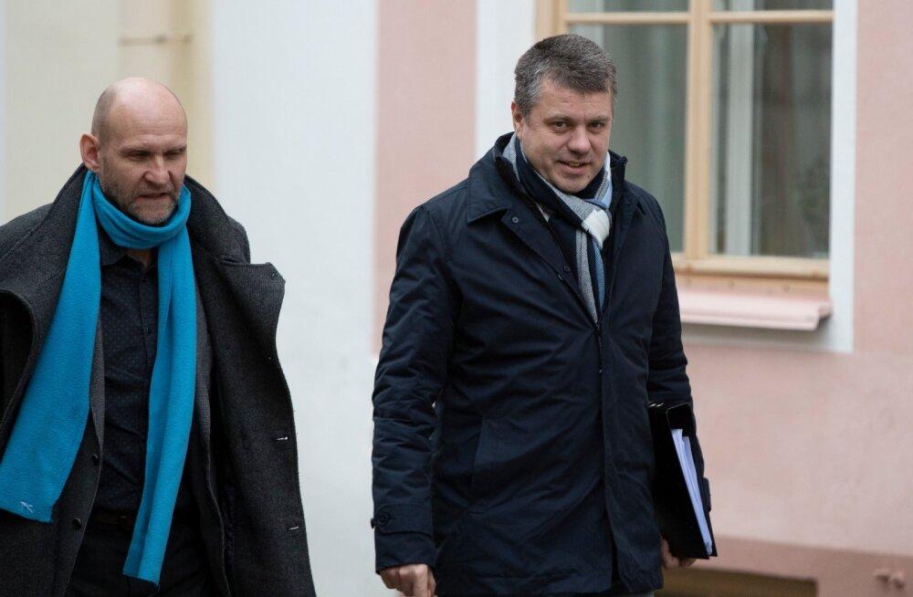 Isamaa liidrid teevad maatasa Venemaa avalduse Tartu rahulepingu kohta