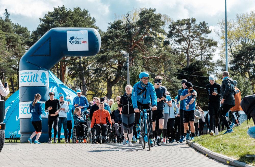 Heategevuslik Wings for Life World Run toob Tallinnas Pirital kokku jooksusõbrad