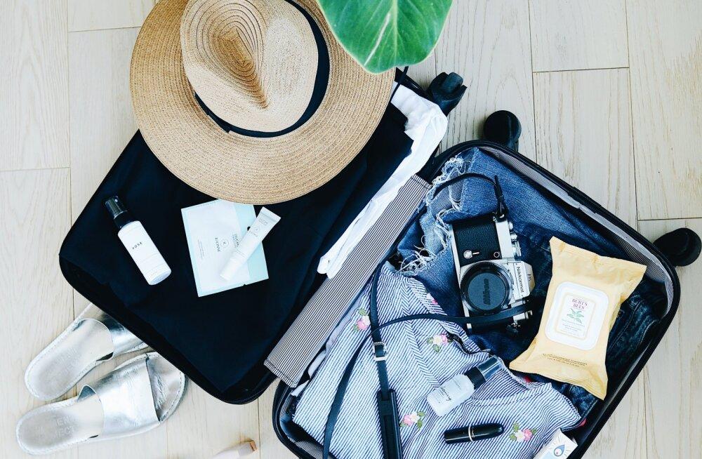 Pakid kohvrit? Seitse ülivajalikku asja, mis reisile minnes alati maha unustatakse