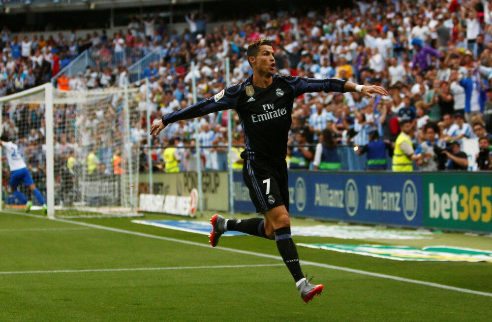 Madridi Reali täht Cristiano Ronaldo