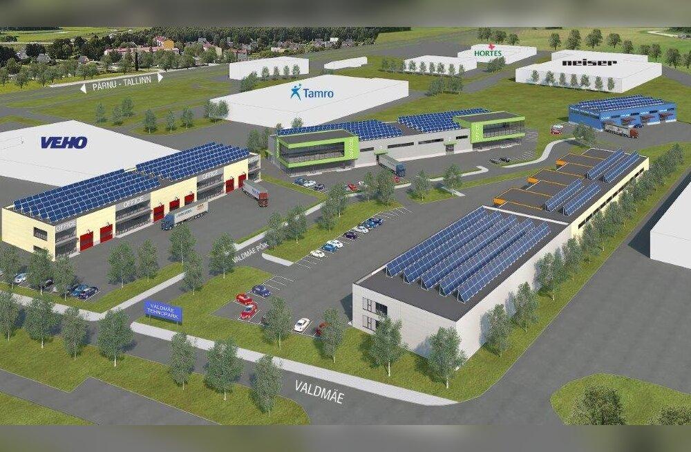 Harju KEK alustas Valdmäe Tööstuspargi ehitust