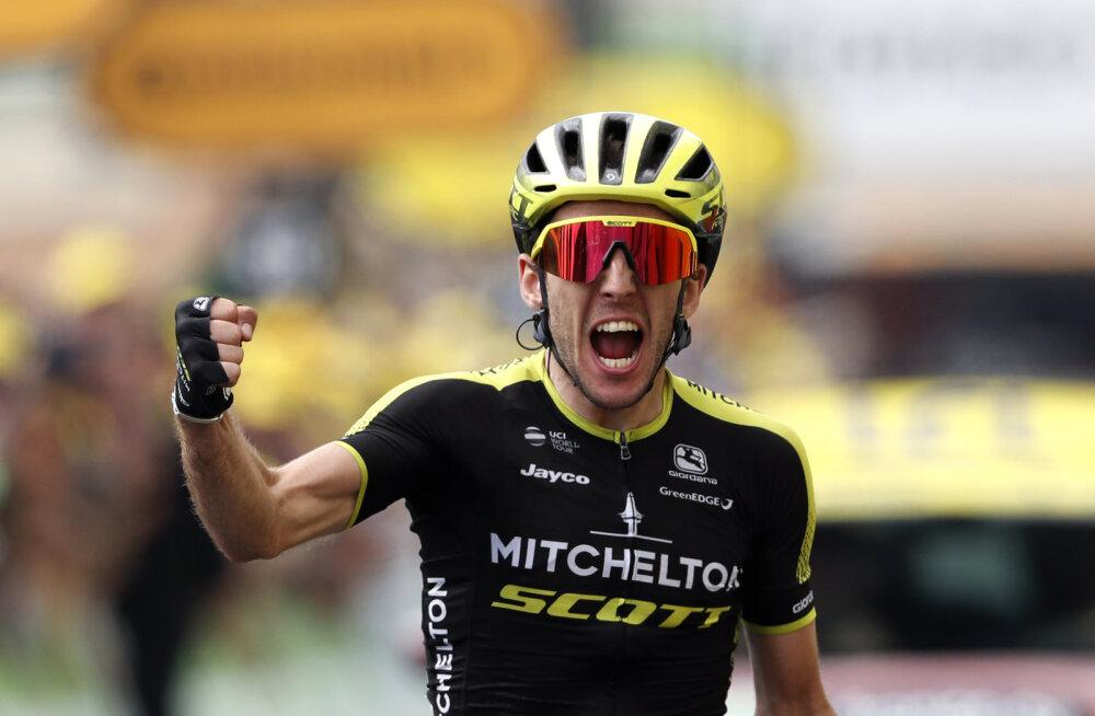 Briti rattur täitis Tour de France'il suure unistuse, Kangert ja Taaramäe turvaliselt peagrupis