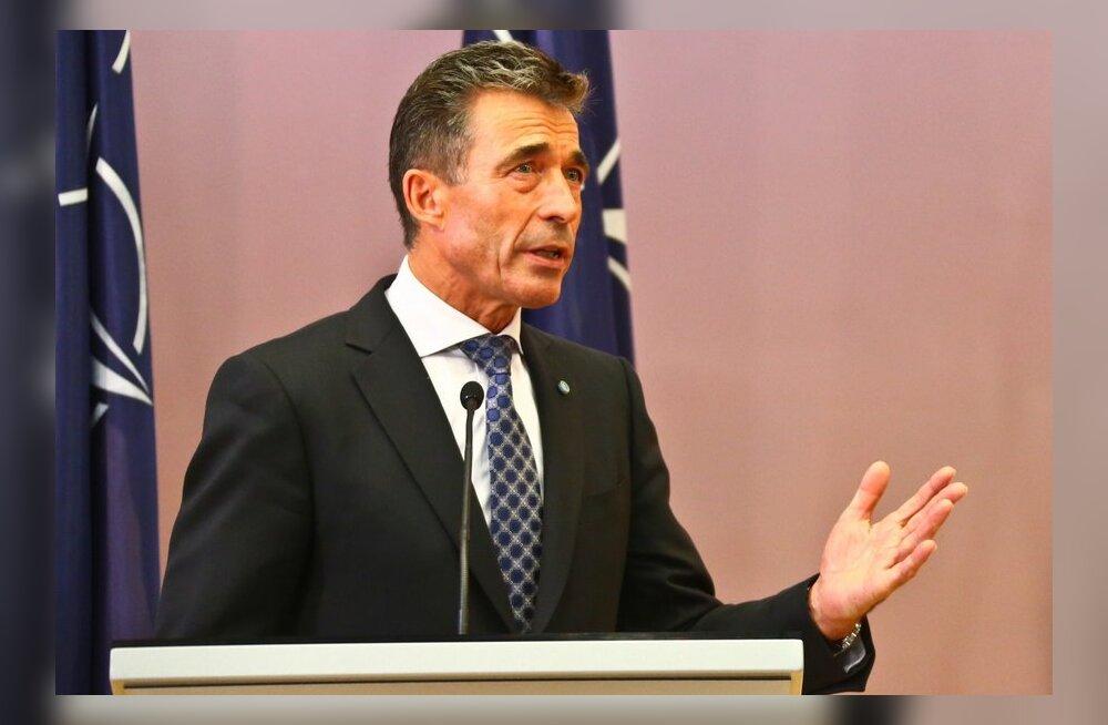 Rasmussen: Moskva peaks õppusi korraldama läbipaistvamalt