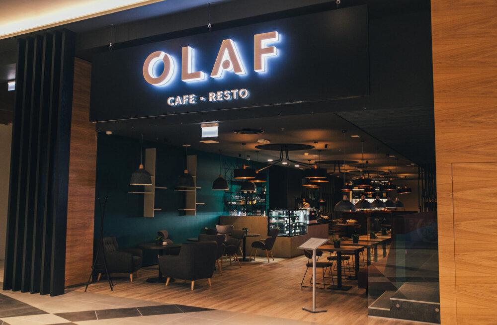 GALERII: T1 Mall of Tallinnas avas uksed skandinaavialik Olaf Cafe • Resto