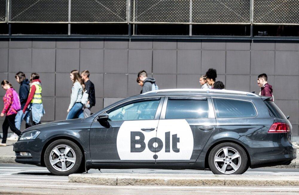 Bolti takso Tallinnas. Foto on illustreeriv.