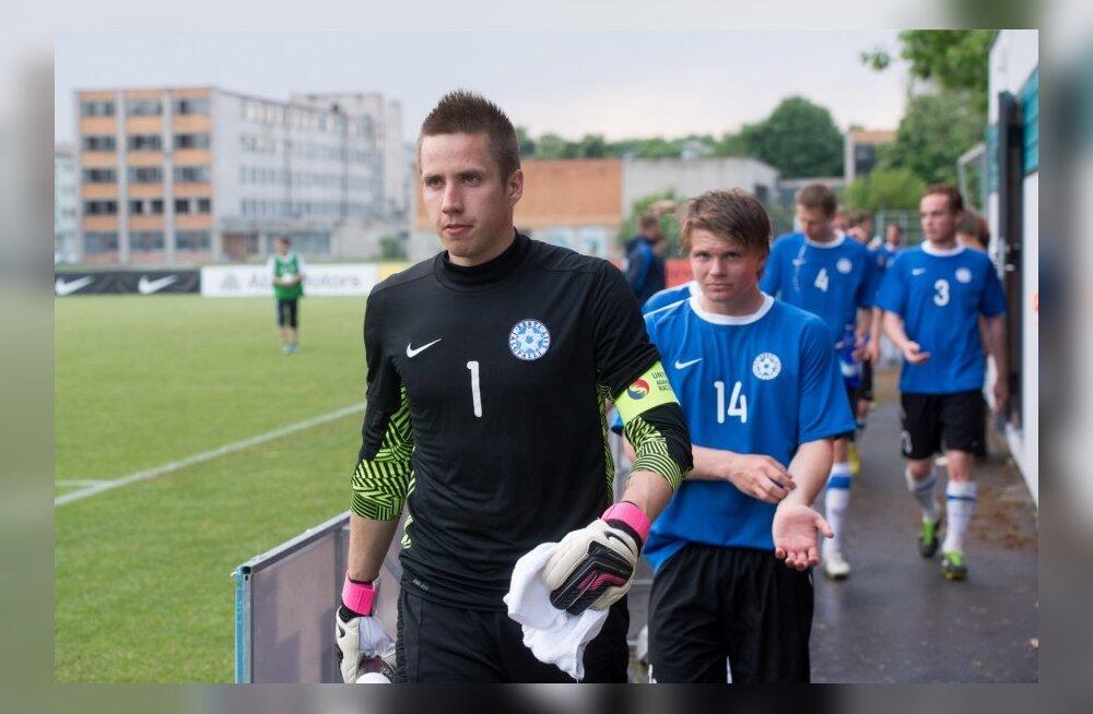 Eesti jalgpallurid välismaal: väravavahid tegid arvukalt nullimänge