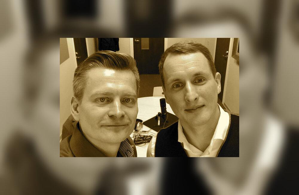 Rain Tunger (paremalt) ja Veiko Valkiainen.