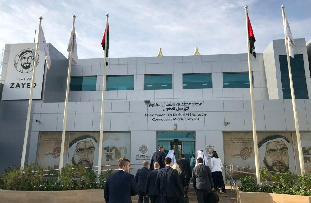 Dubai Expo 2020 ehitus ja eskiisid