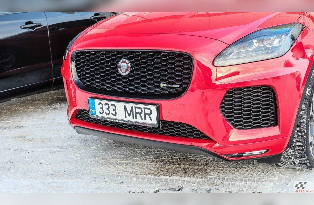 Pilk peale, käsi külge: Jaguar E-Pace kompaktmaasturi tee ülesmäge