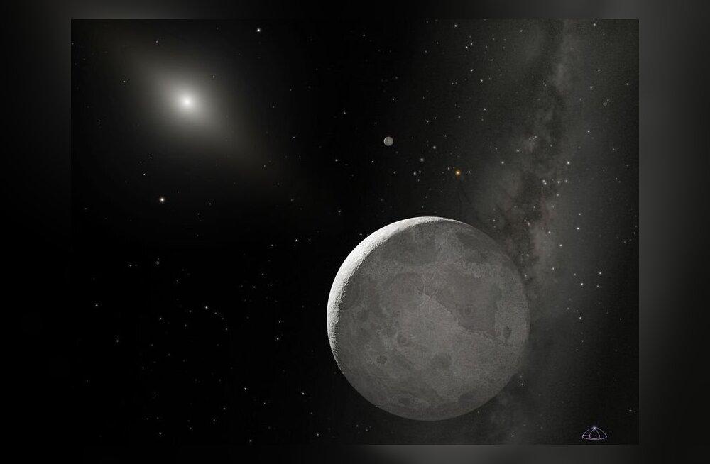 """Endine """"kümnes planeet"""" on Pluutost väiksem"""