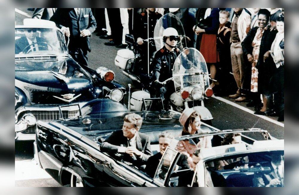 """Kennedy mõrv ja üks """"väga karvane käsi"""" Oswaldi selja taga"""