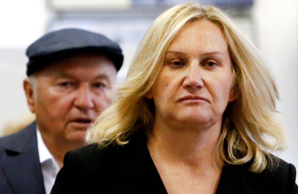 Jelena Baturina ning tema abikaasa, endine Moskva linnapea Juri Lužkov.