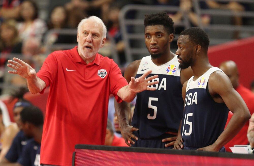 USA korvpallikoondise jaoks lõppeb MM pettumusega.