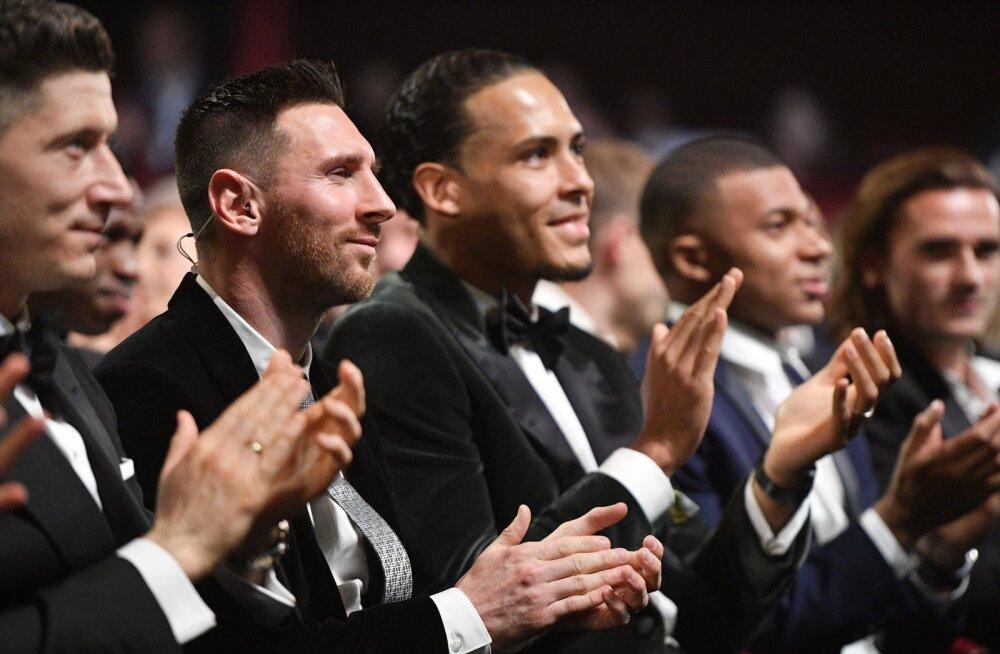 Ballon d'Or'i hääletustulemused: Van Dijk teenis rohkem esikohti ning oleks äärepealt Messi peo rikkunud