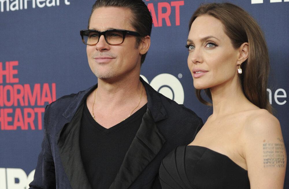 Palju õnne! Brad Pitt ja Angelina Jolie on lõpuks ametlikult vallalised
