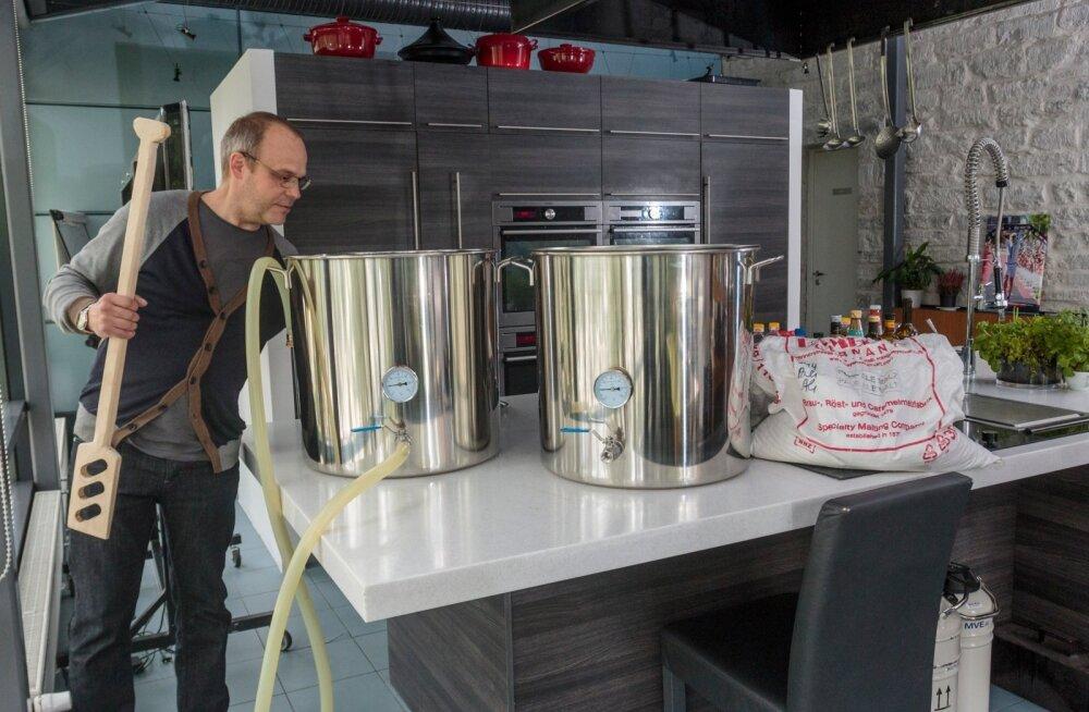 Eesti õllemeister avab esimese hobipruulijate õllepruulimiskooli