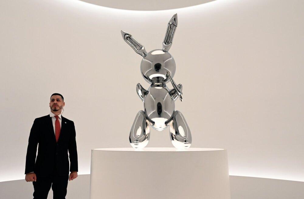 Üks maailma menukamaid kunstiteoseid hetkel: kas Sina maksaksid selle jänese eest 60 miljonit eurot?