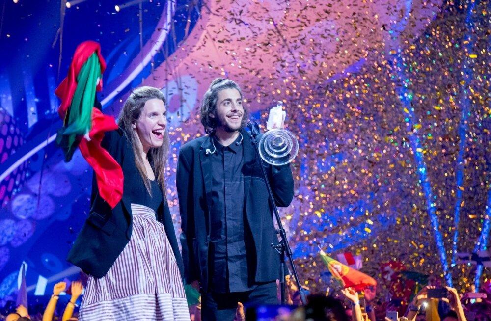 Portugal võitis Eurovision 2017