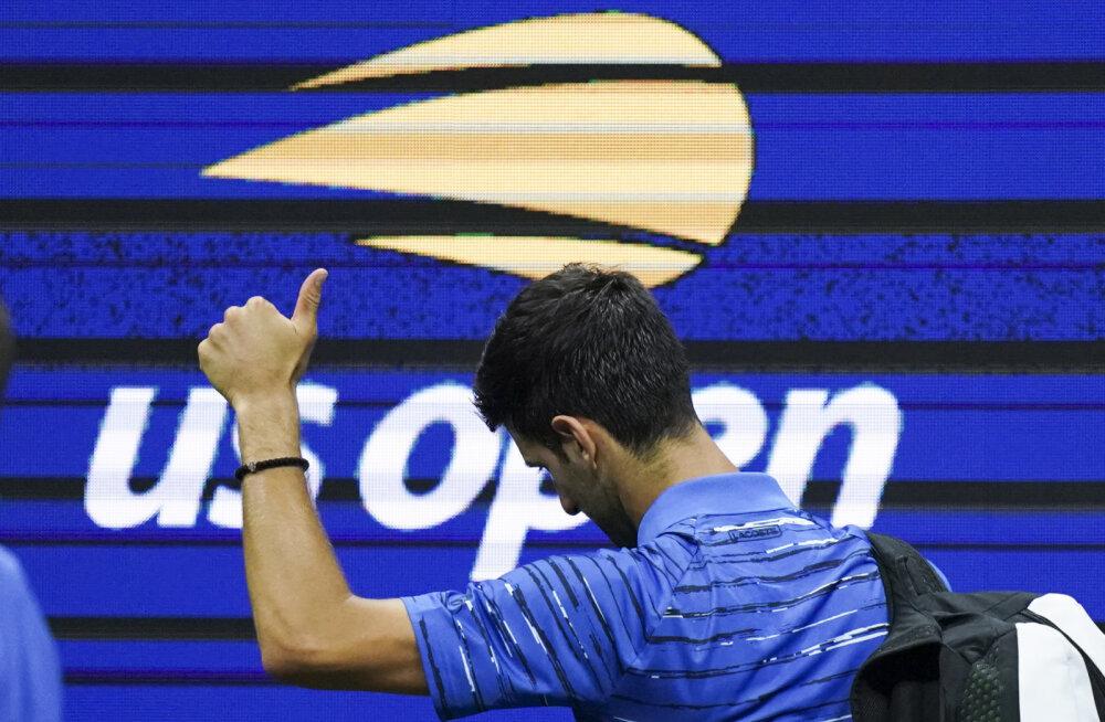 US Openi tiitlikaitsja Djokovic andis neljandas ringis loobumisvõidu
