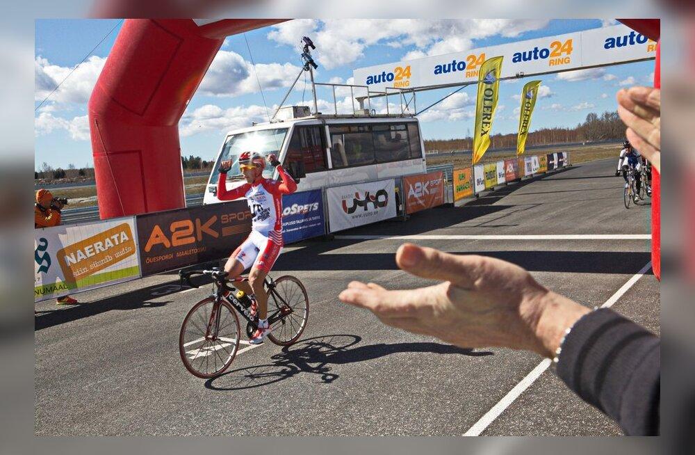 Püha Loomaaia rattaralli võitja Bogdanovics