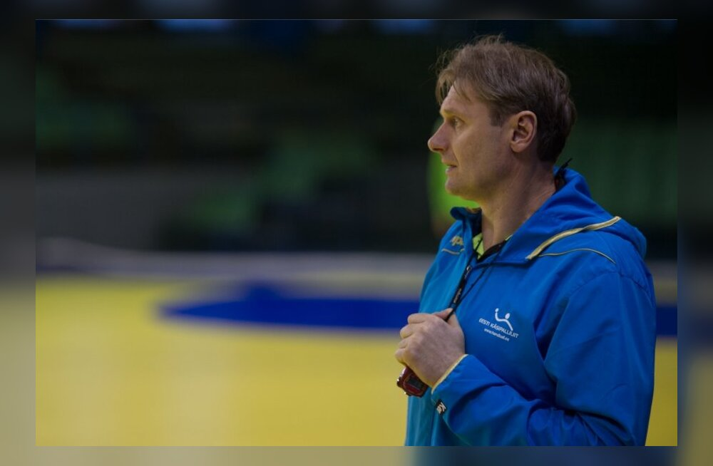 Eesti käsipallikoondise peatreener Rein Suvi