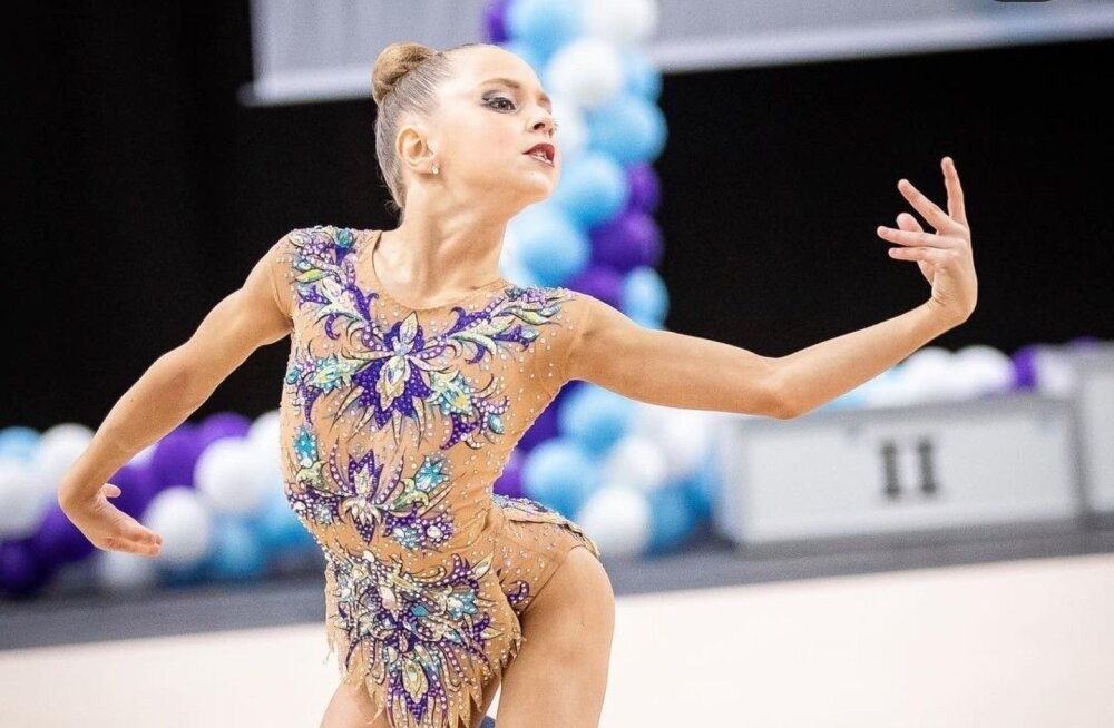 13-летняя эстонская юниорка пробилась в финал чемпионата Европы!