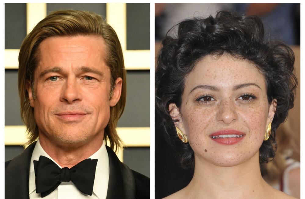Brad Pitti väidetav silmarõõm on viimaks suhtelt saladuseloori kergitanud: varem pole meediahuvi nii kontrollimatu olnud