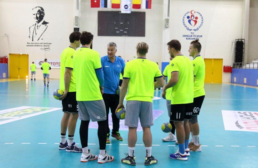 Eesti käsipallikoondis peab kahe päevaga kaks MM-valikmängu