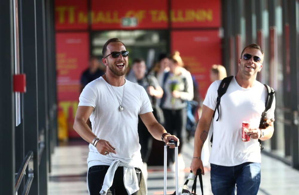 FOTOD | Nad on siin! James Morrison ja Chris de Burgh jõudsid Eestisse