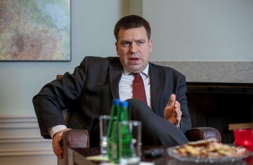 Jüri Ratas Putini kutsumisest Eestisse: toetan seda, et me ei istuks naabriga toa nurkades, vaid hoiaks dialoogi