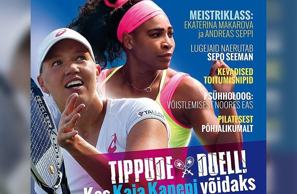 Ajakirja Tennis esikaas