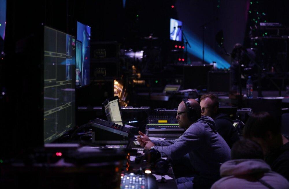 FOTOD | Juba homme! Vaata, kuidas valmistutakse suurejooneliseks Eesti Muusikaauhindade juubeligalaks