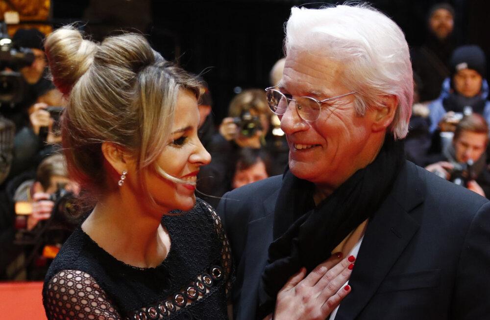 Palju õnne! Näitleja Richard Gere saab 69-aastaselt perelisa