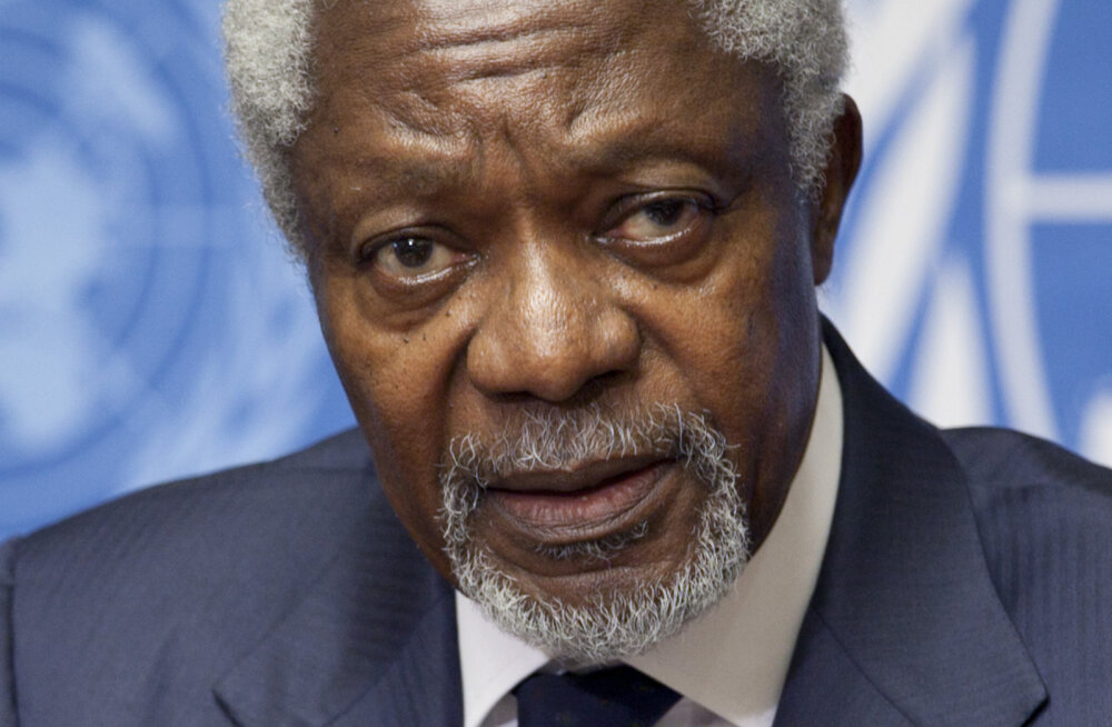 Suri endine ÜRO peasekretär Kofi Annan