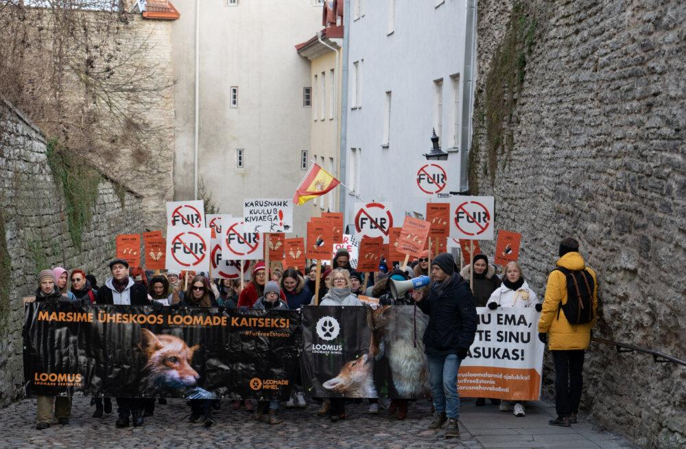 300 inimest osales eile rongkäigul loomade heaks