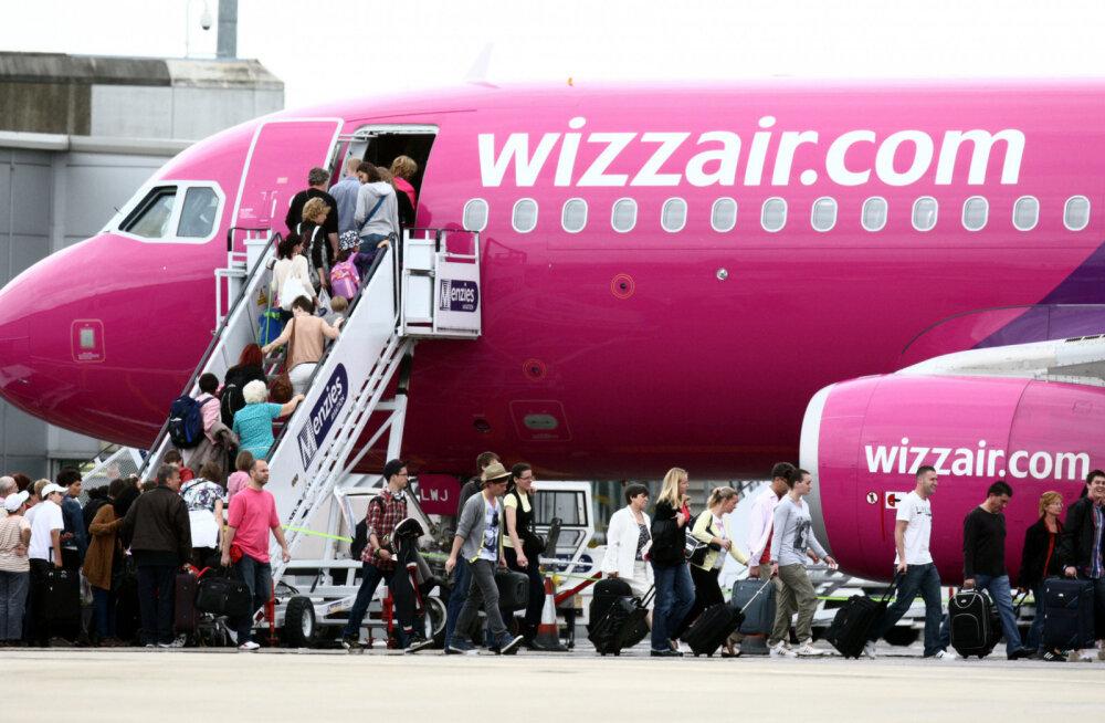 Авиакомпания Wizz Air отменила вчера вечером рейс Киев-Таллинн