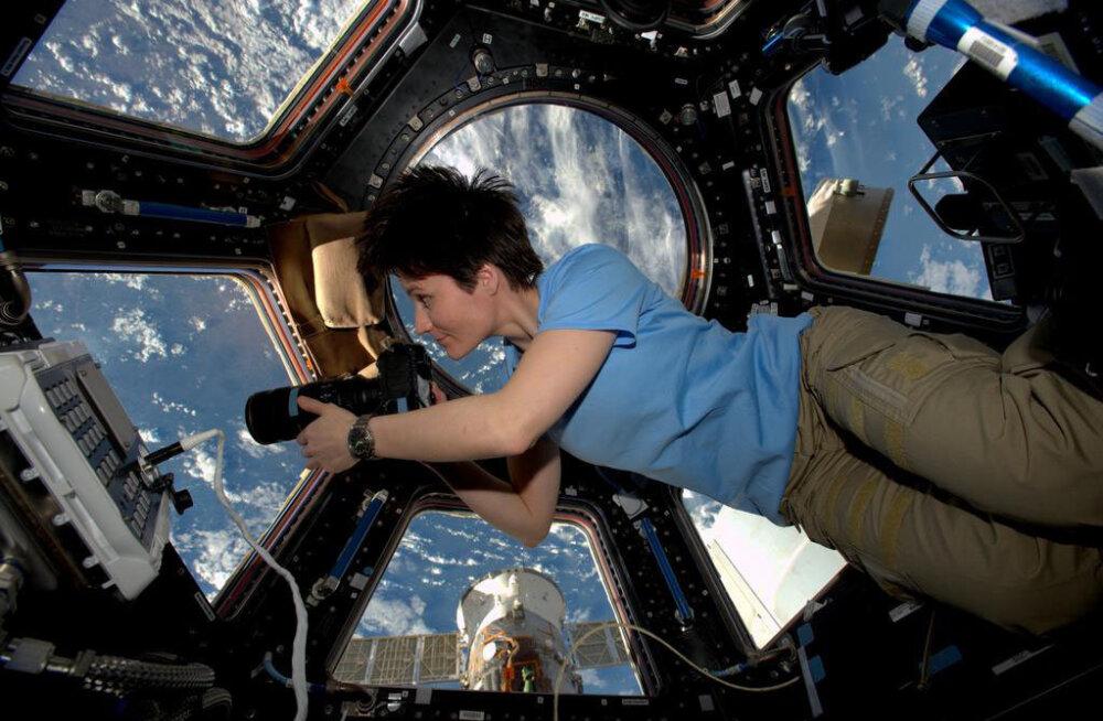 """Mida teha, kui naissoost astronaudil või kosmonaudil on orbiidil viibides """"päevad""""?"""