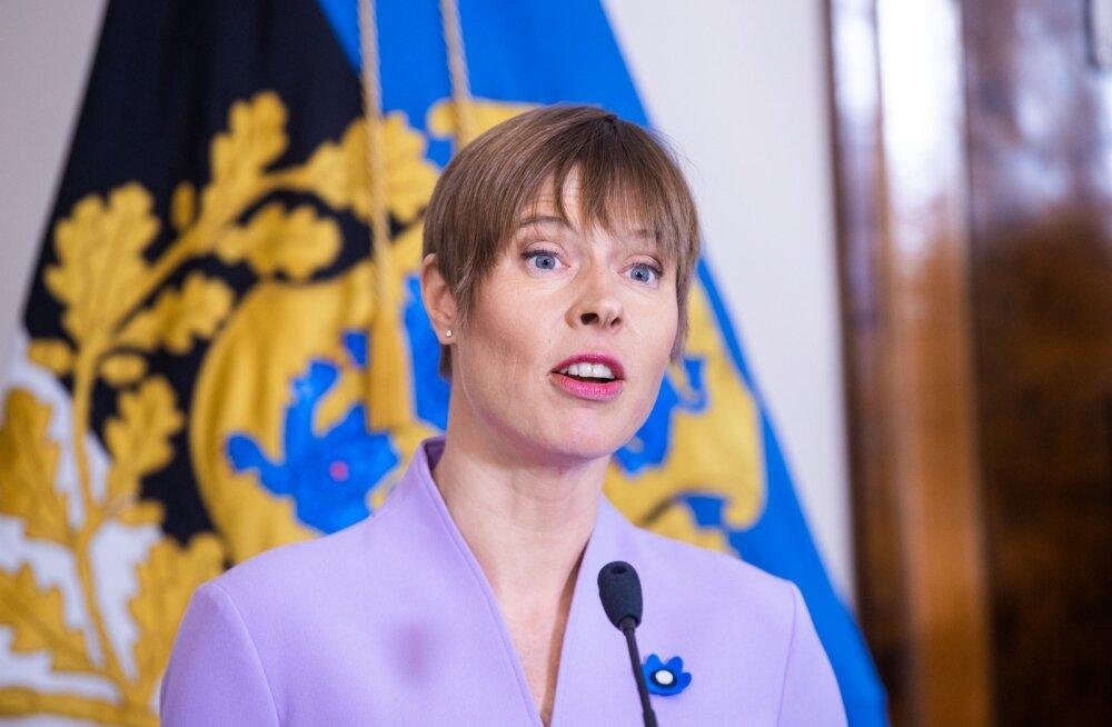 President Kaljulaid külastab täna Kevadtormi