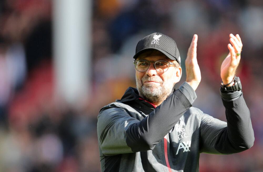 Liverpool jätkab võimsat seeriat, üllatusmeeskond hoiab kolmandat kohta
